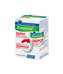 Diasporal Magnesium DEPOT +B-vit Complex 30 kpl